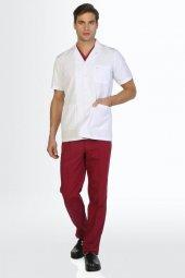 Tipmod Doktor Hemşire Önlüğü Erkek 107 K Kısa Boy Kısa Kol Ceket