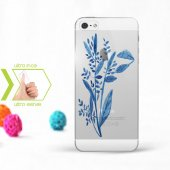 Kişiye Özel Iphone 5 5s İnce Şeffaf Silikon Telefon Kapağı (Yap