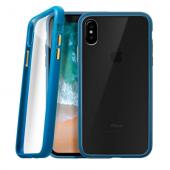 Laut Accents İphone X Şeffaf Mavi Kılıf