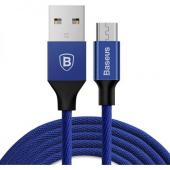 Baseus Yiven Micro Usb Şarj Kablosu Mavi