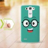 Kişiye Özel Lg G3 İnce Şeffaf Silikon Telefon Kapağı (Yüz Temalı