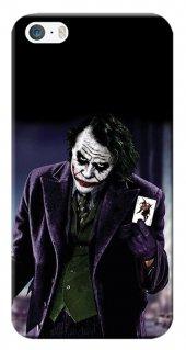 Iphone 5 5s Se Kılıf Silikon Baskılı Joker Stk 599