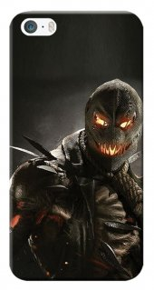 Iphone 5 5s Se Kılıf Silikon Baskılı Scarecrow Stk 604
