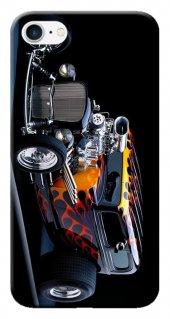 Iphone 6 6s Kılıf Silikon Baskılı Hot Rod Dog Stk 295