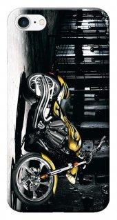 Iphone 6 6s Kılıf Silikon Baskılı Motorcycle Stk 297