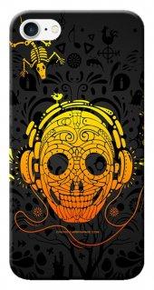 Iphone 6 6s Kılıf Silikon Baskılı Kuru Kafa Stk 309