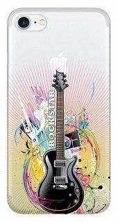Iphone 6 6s Kılıf Silikon Baskılı Rock Star Stk 313