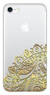 Iphone 6 6s Kılıf Silikon Baskılı Desen Tasarım Stk 329