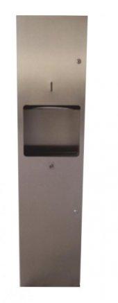 Ayaz 7365 Kombine Sistem Kağıt Havlu Verici+çöp Kovası 254