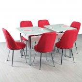 Masa Kumaş Sandalye Mutfak Masaları Sandalye Masa Set