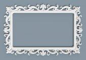 Sumbul Ayna Cercevesi 70x100 Beyaz