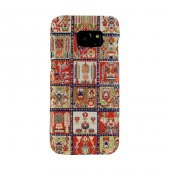 Wachikopa Samsung Galaxy S7 Edge Kapak Maria El Yapımı Kilim Dese