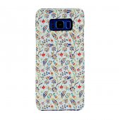 Samsung Galaxy S8 Plus Kapak Berceste El Yapımı Kilim Desenli Kum