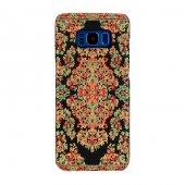 Samsung Galaxy S8 Plus Kapak Bodrum El Yapımı Kilim Desenli Kumaş