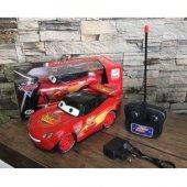 Uzaktan Kumandalı Şimşek Mcqueen Araba Led Işıklı Oyuncak Araba