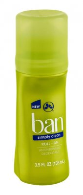 Ban Simply Clean Antiperspirant Roll On 103 Ml