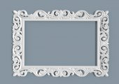 Cıgdem Ayna Cercevesı 60x80 Beyaz