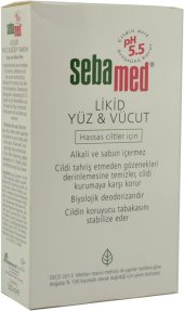 Sebamed Liquid Face & Body Wash 500 Ml