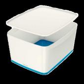 Leitz Mybox Saklama Kutusu Mavi Beyaz L 5216