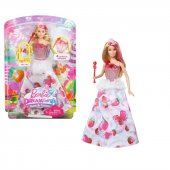 Dreamtopia Çilek Prensesi Barbie Bebek Dyx28