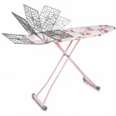 Doğrular Perilla Tomris Sepetli Ütü Masası Pembe