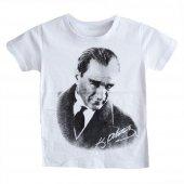 Dobakids Atatürk Baskılı Erkek Çocuk Tişört 4 13 Yaş