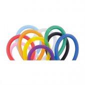 Uzun Balon Sosis Balon Karışık Renk Balon 50 Adet