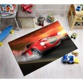Arabalar Desenli Çocuk Odası Halısı