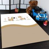Hayvanlar Desenli Çocuk Odası Halısı