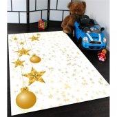 Sarı Yıldızlar Desenli Çocuk Odası Halısı