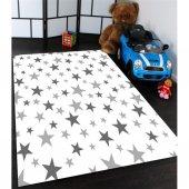 Yıldızlar Desenli Çocuk Odası Halısı