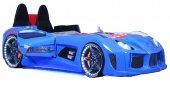 Farinay Mobilya Audı V7 Kapılı Mavi Araba Tasarımlı Karyola