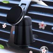 Araç İçi Kalorifer Air Vent Mıknatıslı Telefon Tutucu + Parfüm