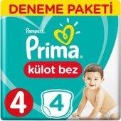 Prima Külot Bez 4 Numara 4 Lü Deneme Paket