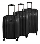Tutqn (Tutkun) 2018 Model Safari Kırılmaz 3lü Bavul Valiz Seti