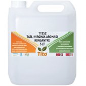 Tito Tt252 Tatlı Virginia Aroması Suda Çözünür 5 Lt