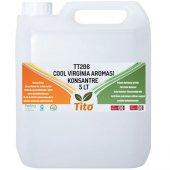 Tito Tt206 Cool Virginia Aroması Suda Çözünür 5 Lt