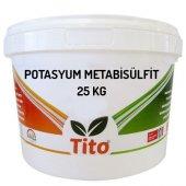 Tito Potasyum Metabisülfit Gıda Tipi (Kükürt) 25 Kg