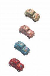4 Lü Mini Tosbağa Çek Bırak Araba Df Vw 006