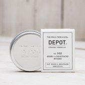 Depot No 502 Beard Mustache Butter Sakal Ve Bıyık Yağı 30ml