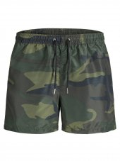 Jack Jones Isunset Swım Shorts Prınt Erkek Deniz Şortu