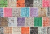 Antik Patchwork Mutfak Kilimi 80x150 Cm