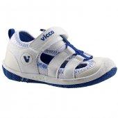 Vicco 333.z.337 Beyaz Erkek Çocuk Günlük Ortopedik Sandalet Terli