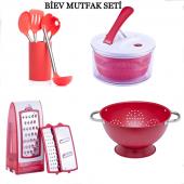 Biev 4lü Mutfak Seti Kampanyalı Set
