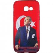 Sunix Samsung Galaxy A5 2017 3d Atatürk Desenli Silikon Kılıf