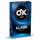 Okey Klasik Prezervatif 10'lu Prezervatif