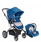 Pierre Cardin Pc 405 Twist Travel Sistem Bebek Arabası Mavi