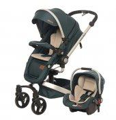 Baby 2 Go 8030 Volo Private Travel Si �stem Bebek Arabası Yeşil