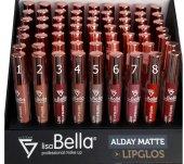 Lisa Bella Allday Matte Lipgloss 04 Fırçalı Ruj
