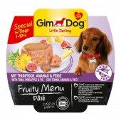Gimdog Fruity Menu Köpek Ezme Konserve Tuna Ananas İncir 100gr